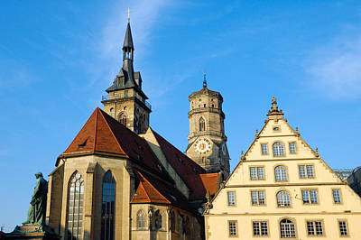 Photograph - Stuttgart Germany Stiftskirche Collegiate Church by Matthias Hauser