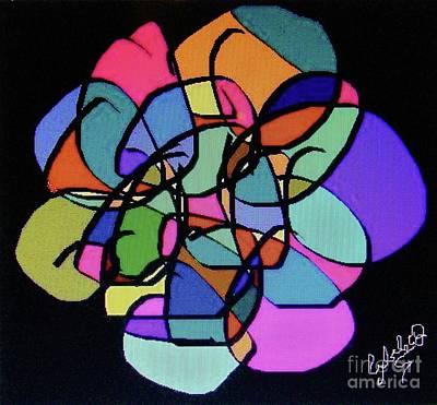 Wall Art - Digital Art - Stylized Mandala by Cybele Chaves