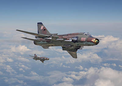 Cold War Photograph - Su22 - Cold War Warrior by Pat Speirs