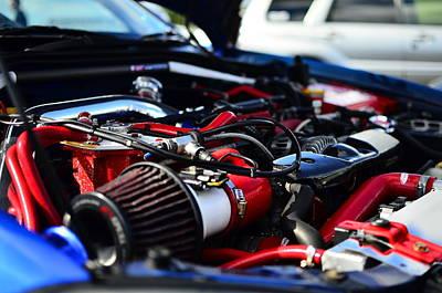 Subaru Impreza  Engine Bay 400hp Art Print by Phil Kellett