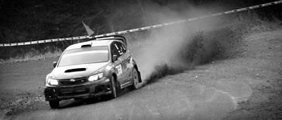 Subaru Rally Photograph - Subaru Sti Rally by Stefan Donev