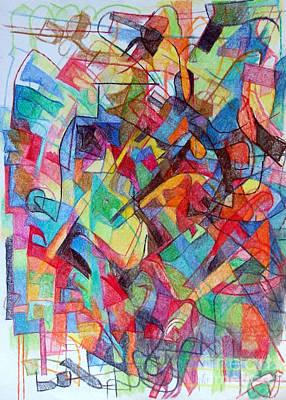 Creativity Drawing - Subjecting Reason To Conscience And Conscience To Reason 1 by David Baruch Wolk