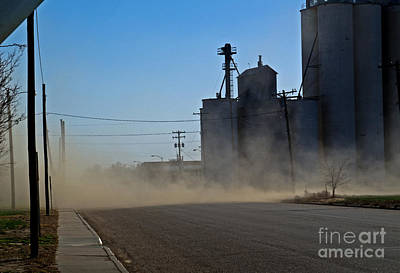Photograph - Sublette Dust Storm by Fred Lassmann