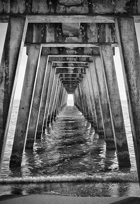 Photograph - Sublevel - Bw by Nicholas Evans