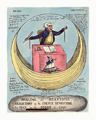 Sublime And Beautiful Reflections On The French Revolution Art Print