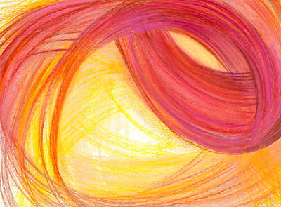 Abstract Design Drawing - Sublime Design-h2 by Kelly K H B