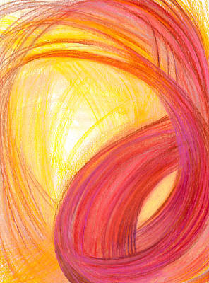 Abstract Movement Drawing - Sublime Design-v1 by Kelly K H B