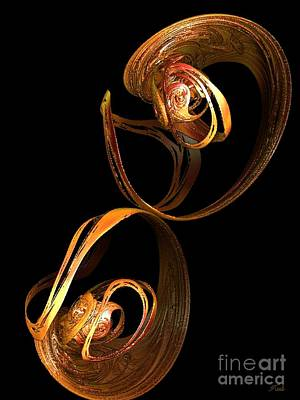 Digital Art - Sublime Fluidity by Steed Edwards