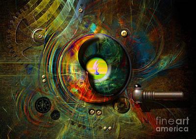 Digital Art - Submarine Periscope by Alexa Szlavics