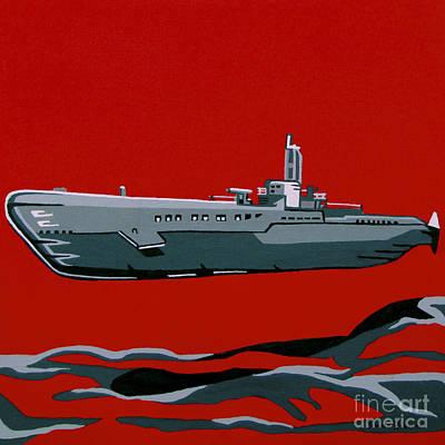 Submarine Sandwhich Art Print by Slade Roberts