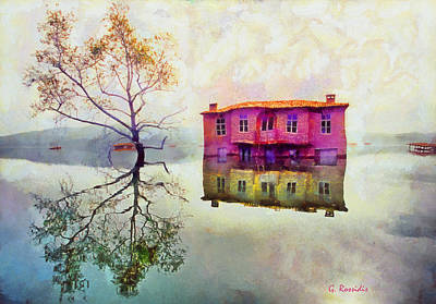 Submerged Reflections Art Print by George Rossidis