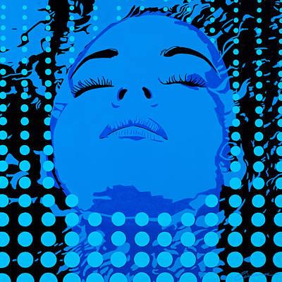 Borg Painting - Submerged Woman by Joe Ciccarone