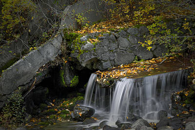 Photograph - Subtle Falls by Robert Woodward
