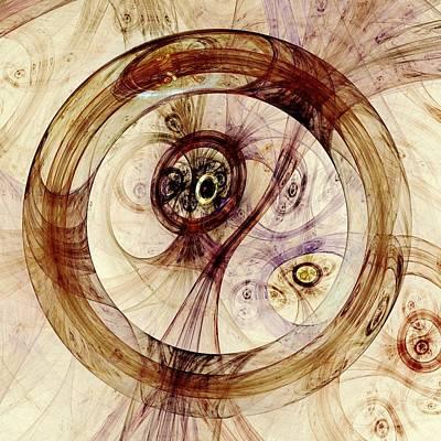 Subtle Ring Print by Anastasiya Malakhova