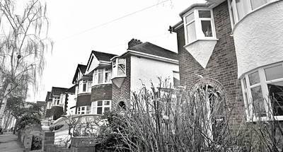 Neighbourhoods Photograph - Suburban Houses by Tom Gowanlock