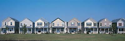 Duplicate Photograph - Suburban Housing Development Joliet Il by Panoramic Images