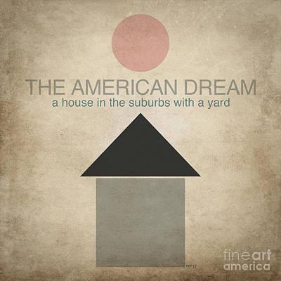 The American Dream Digital Art - Suburban Life by Phil Perkins