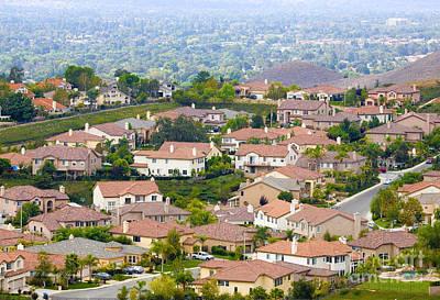 Photograph - Suburban Neighborhood by Richard J Thompson