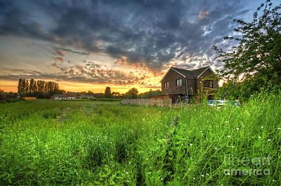 Photograph - Suburban Sunset 5.0 by Yhun Suarez
