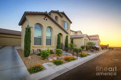 Photograph - Suburban Vegas Sunrise by Yhun Suarez