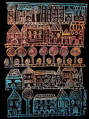 Suburbia Art Print by Mimulux patricia no No