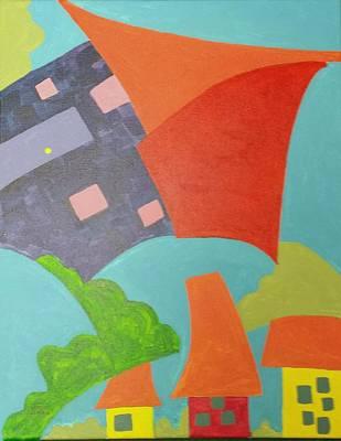 Painting - Suburbia  by Isaac Alcantar