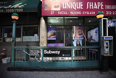 Photograph - New York City Storefront 7 by Frank Romeo