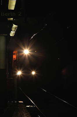 Florescent Lighting Photograph - Subway And Surface Trolley by Berry Edwards