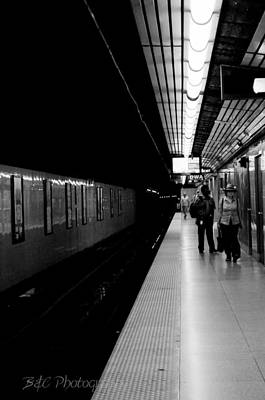 Subway Art Print by BandC  Photography
