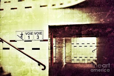Art Print featuring the photograph Subway  by Nick  Biemans