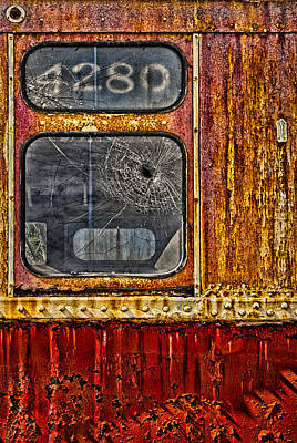 7 Train Photograph - Subway Number 4280 by Susan Candelario