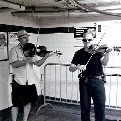 Music Wall Art - Photograph - Subway Performers #nyc #music by Love The Photographer