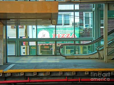 Photograph - Subway Pizza by Phillip Allen