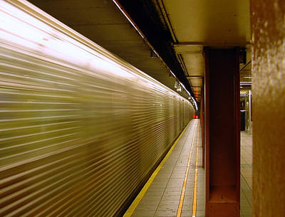 Photograph - Subway Speed by Mieczyslaw Rudek Mietko