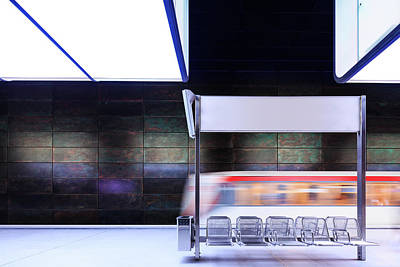 Photograph - Subway Station by Mf-guddyx
