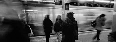 Subway, Station, Nyc, New York City Art Print by Panoramic Images