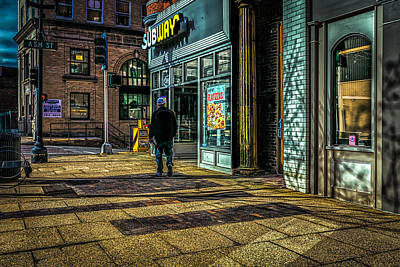 Photograph - Subway Sunrise by Bob Orsillo
