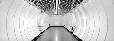 Photograph - Subway Symmetry by Marc Huebner
