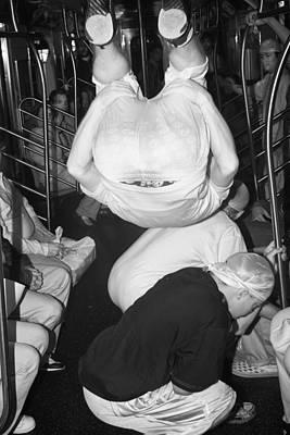 Photograph - Subway Tuck by Dave Beckerman