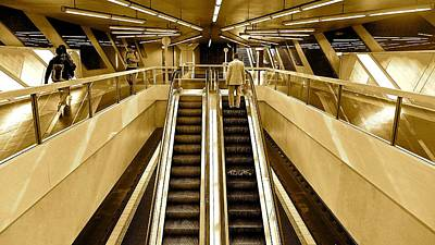 Subway U-bahn Art Print
