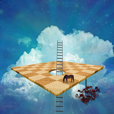 Surrealism Digital Art Rights Managed Images - Success Royalty-Free Image by Bruce Rolff