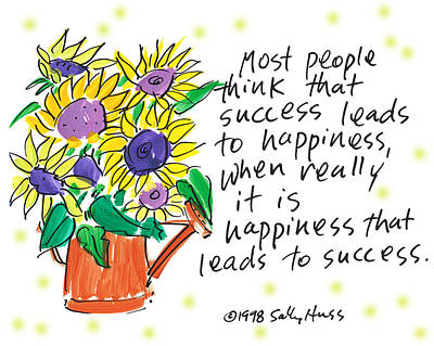 Success Art Print by Sally Huss