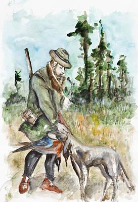 Bir Painting - Successful Hunting by Irina Gromovaja