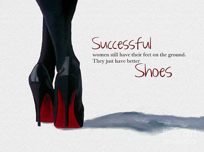 Successful Woman Art Print by Rebecca Jenkins