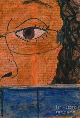 Mixed Media - Such A Good Book by Angela L Walker