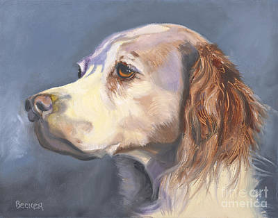 Painting - Such A Spaniel by Susan A Becker