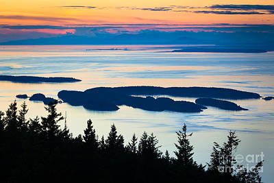 Puget Sound Photograph - Sucia Island by Inge Johnsson