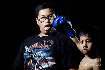 Kickboxing Photograph - Sucker Punch by Mystique Asian