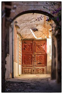 Photograph - Sucre Door Tilt Shift by For Ninety One Days
