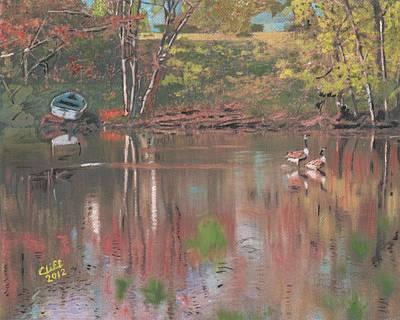 Sudbury River Art Print